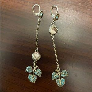 Betsey Johnson Drop Earrings
